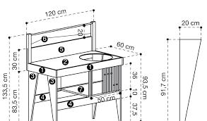 taille bureau dimension meuble de cuisine taclaccharger par taillehandphone