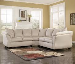 Marlo Furniture Liquidation Center by Signature Design By Ashley Darcy Stone Contemporary Sectional
