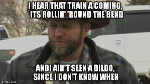 Meme Dildo - image 47 ammon bundy photo meme i hear that train a coming its