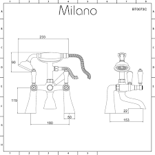 traditional lever bath shower mixer deck or wall mounted tap milano traditional lever bath shower mixer deck or wall mounted tap