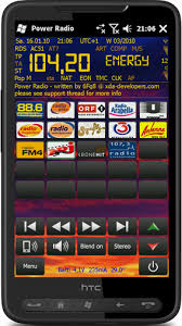 android fm radio power radio fm player with rds decoding