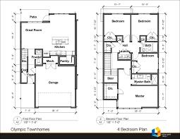 rental properties back nine development olympic townhomes bedroom floorplan view larger