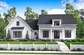 Large Farmhouse Plans Plan 51762hz Budget Friendly Modern Farmhouse Plan With Bonus