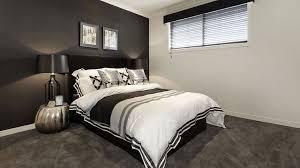 chambre noir blanc interieur noir blanc chambre mur noir