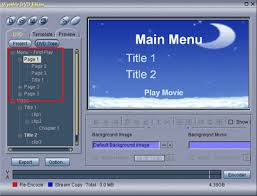 how to build a dvd with multiple titles and an introductory video