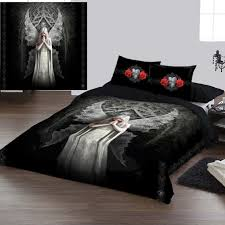 Double Duvet Cover Sets Uk Anne Stokes Only Love Remains Duvet Set 79 99 Angel Clothing