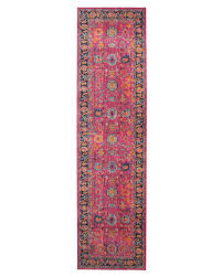 Pink Runner Rug Rug Culture Eternal Whisper Corners Pink Runner Rug Catwalk Rugs
