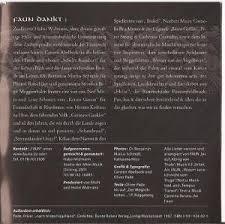 faun zaubersprüche faun zaubersprüche cd 2002