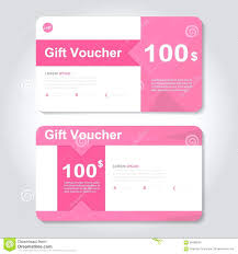 discount gift card template voucher coupon template creative discount gift card or