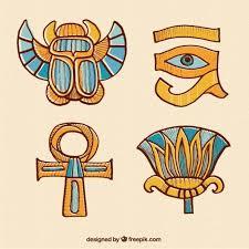 imagenes egipcias para imprimir dibujado a mano adornos egipcios descargar vectores gratis