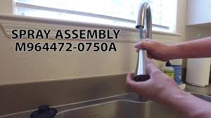 american standard raleigh sink sprayer assembly replacement youtube