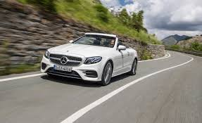 nissan convertible 2018 2018 mercedes benz e class cabriolet first drive review car