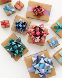paper gift bows diy repurpose make bows from magazines