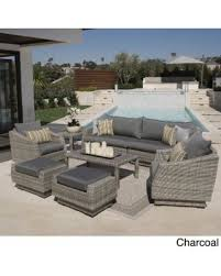 Moroccan Patio Furniture Check Out These Bargains On Rst Brands Cannes Outdoor Grey Pe