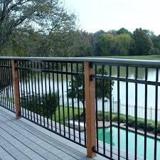 metal deck railing u2013 bowhuntingsupershow com