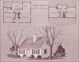 cape cod cottage plans 1948 home building plan service 1095 vintage house plans
