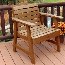 wooden garden chairs foter