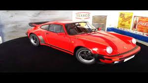 porsche old red porsche 911 3 3 turbo 1986 autoart 1 18 youtube