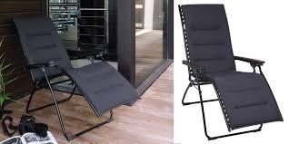 chaise relax lafuma fauteuil de relaxation pliant lafuma evolution air comfort coloris