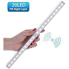 battery operated led lights for cupboards motion sensor cabinet light lofter wireless pir motion activated 20