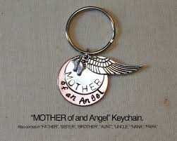 memorial gifts for loss of of an angel keychain baby memorial angel baby