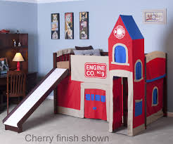 bedroom fire engine bed frame tikes fire truck toddler