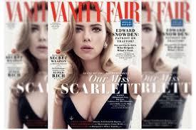 New Vanity Fair Cover Scarlett Johansson Is Vanity Fair U0027s New Cover Etcanada Com
