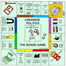 Monopoly Map Karl Remarks Lebanese Politics The Board Game