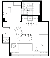 House Plans With Basement Apartments Small Apartment Floor Plans One Bedroom Basement Apartment Floor