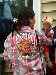 Maryland Flag Vans These Were The Best Dressed People At Maryland U0027s Homecoming Tailgate