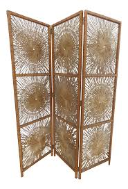 Wicker Room Divider Vintage Used Wicker Screens And Room Dividers Chairish