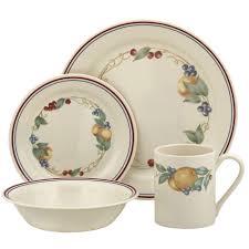corelle impressions abundance 16 dinnerware set