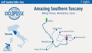 Southern Illinois Wine Trail Map by Bike Tour Southern Tuscany Pienza Montalcino And Siena Cicloposse