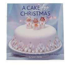 Christmas Cake Decorating Books by Karen Davies Promo All 3 A Cake For Christmas Book Bundle