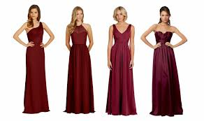 ruby boutique bridesmaid dress color ideas fall wedding