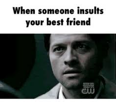 Meme Insults - when someone insults your friend meme someone best of the funny meme