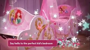 girls princess carriage bed disney princess carriage bed disneyprincess youtube