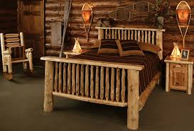 warm and cozy rustic bedroom furniture u2014 the wooden houses