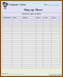 Doctors Sign In Sheet Template Template For Sign In Sheet Authorization Letter Pdf