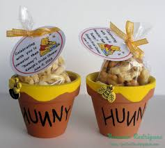 winnie the pooh baby shower honeypots and baby shower these are the tiny terra cotta pots we