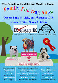 friends of hoylake and meols in bloom family dog show outdoor events