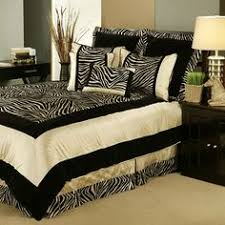 so i have zebra bedding which marcos refers to as