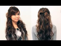 easy hair styles for long hair for 60 plus easy hairstyles for long thick curly frizzy hair 60 quick and easy