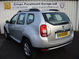 renault duster white used 2013 dacia duster laureate dci 4wd 5dr for sale in saxmundham