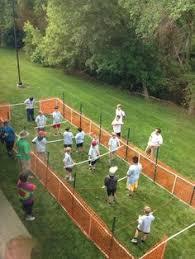 giochi da cortile il gioco degli anelli fa da te all aperto giochi per bambini