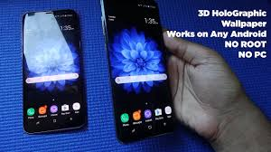 download 3d holographic wallpapers for samsung galaxy s8 and s8