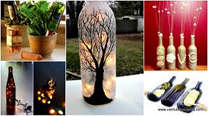 Spray Paint Wine Bottle Crafts 26 Highly Creative Wine Bottle Diy Projects To Pursue