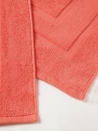 Orange Bathroom Rugs by Coral Orange Bath Rugs Best Bathroom Decoration
