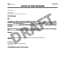 Rent Increase Letter Ma create a rent increase notice in minutes templates