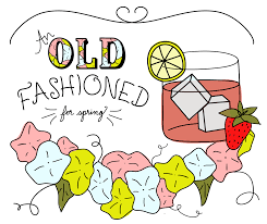 old fashioned cocktail clipart an old fashioned cocktail for spring bananas cocktail recipes